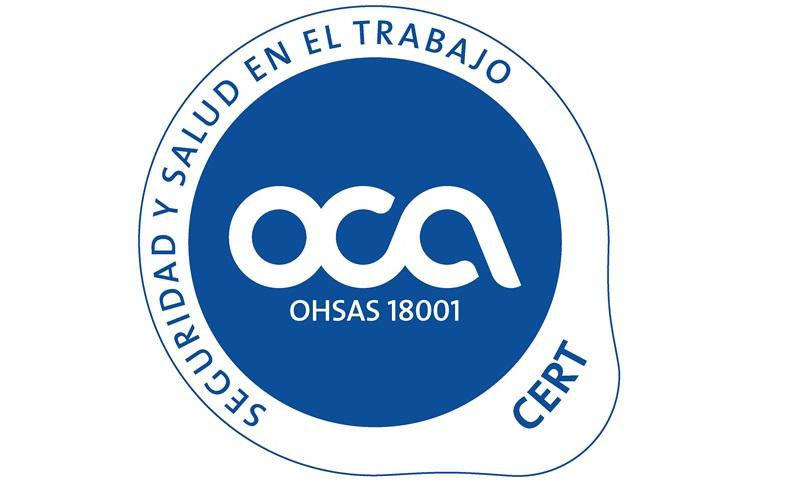 CODEUR OBTIENE LA CERTIFICACIÓN DEL SISTEMA DE SEGURIDAD Y SALUD EN EL TRABAJO OHSAS 18001