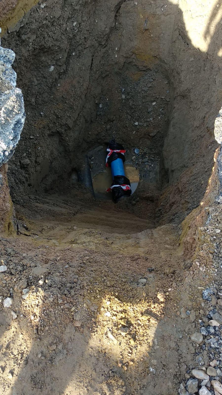 ACTUALIZACIÓN – REPARACIÓN EN AVERÍA DE LA RED DE AGUA POTABLE EN AL-7107 CON AVENIDA CIUDAD DE CASTELLÓN