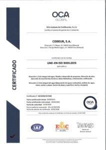Certificado Laboratorio Codeur 2019